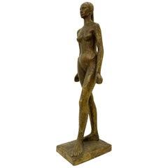 'Nu D'Anael' André Del Debbio Wax Bronze Casting, Valsuani Foundry, circa 1946