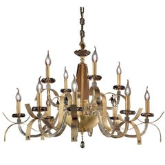 Nuage Gold Chandelier 12 Lights