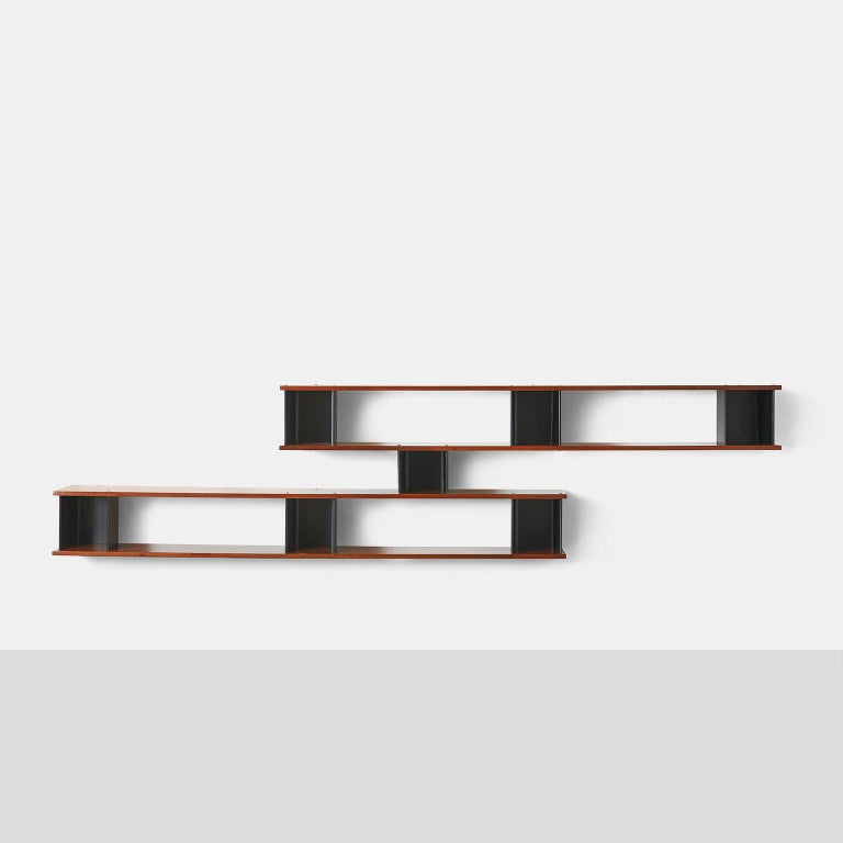 """French """"Nuage"""" Wall Shelf by Charlotte Perriand For Sale"""