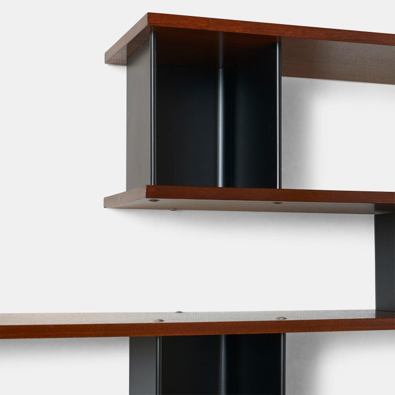 """""""Nuage"""" Wall Shelf by Charlotte Perriand In Good Condition For Sale In San Francisco, CA"""
