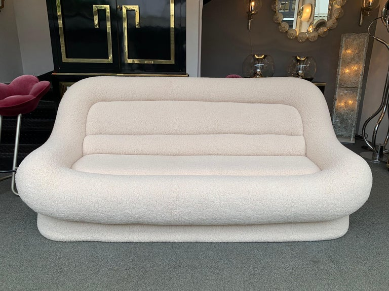 Nuava Sofa by Emilio Guarnacci for 1P, Italy, 1970s For Sale 6