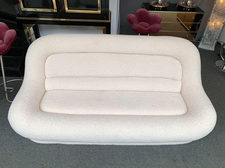 Space Age Nuava Sofa by Emilio Guarnacci for 1P, Italy, 1970s For Sale