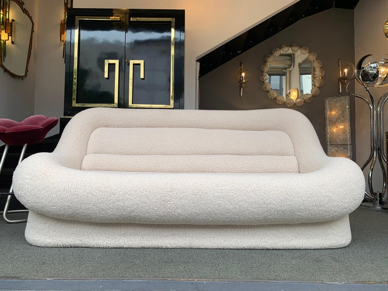 Nuava Sofa by Emilio Guarnacci for 1P, Italy, 1970s In Good Condition For Sale In SAINT-OUEN, FR