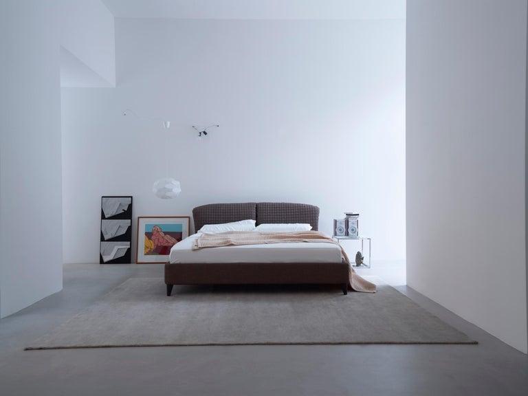 Nube Italia Flatter Sofa in Gray Fabric by Antonio Nicoli In New Condition For Sale In New York, NY