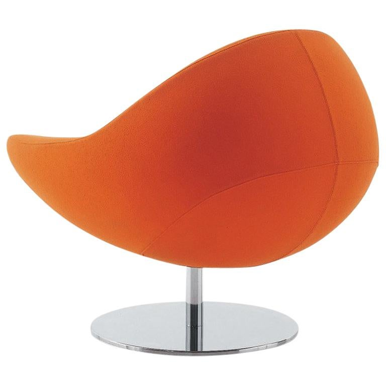 Nube Italia Gordon Armchair in Orange by Kemistry of Style For Sale