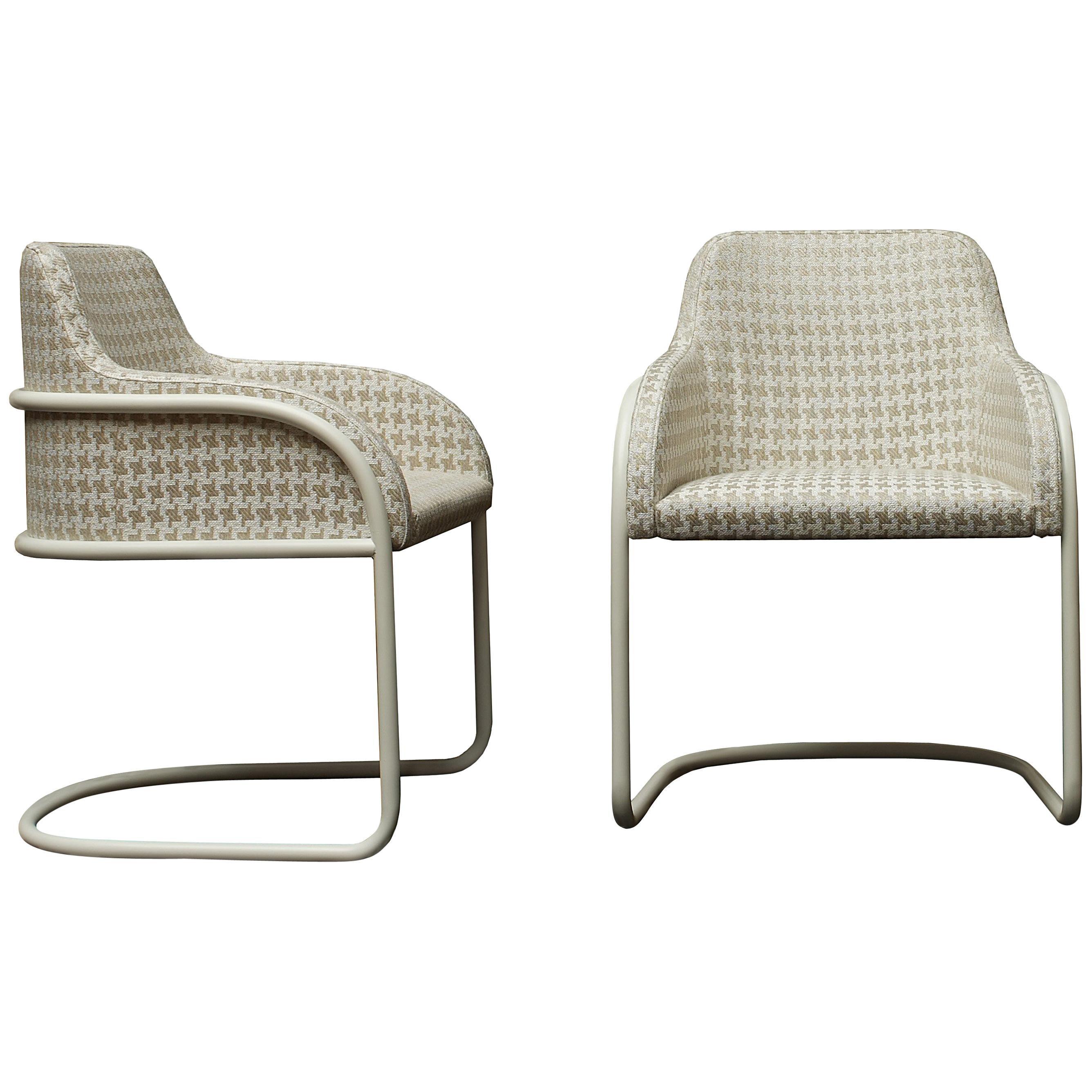 Nube Italia Stream Armchair in Cream Blend Fabric by Marco Corti