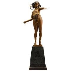 Nubian Dancer by Carl Kauba