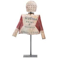"""Nubian"" Helmet & Jacket Sculpture by Patrick Fitzgerald"