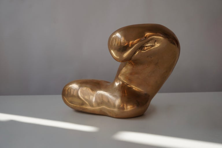 Nude Bronze Sculpture For Sale 1