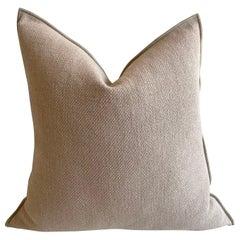 Nude European Linen Accent Pillow