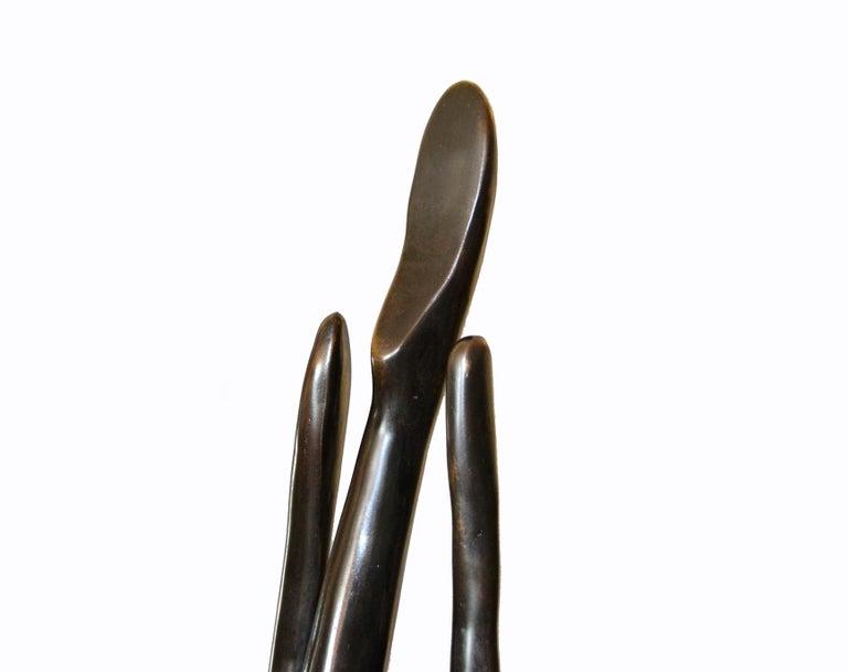 Nude Female Bronze Ballerina Dancer Sculpture For Sale 5