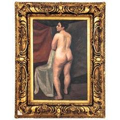 Nude, Józef Krzyżański '1898-1987', 1929, Oil on Canvas