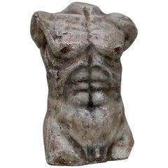 Nude Male Torso Sculpture