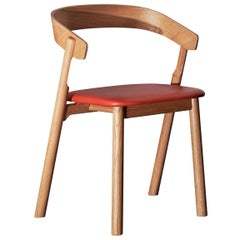 Nude, Nordic Design Dining Chair in Natural Oak