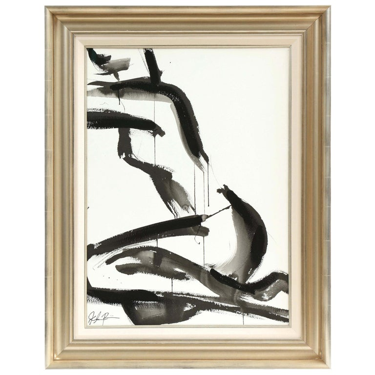 Nude Painting by Jenna Snyder-Phillips, No Frame Included, Sumi Ink, USA For Sale