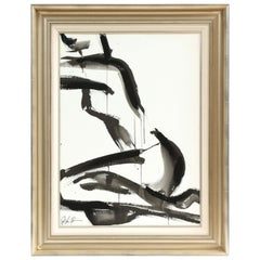 Nude Painting by Jenna Snyder-Phillips, No Frame Included, Sumi Ink, USA