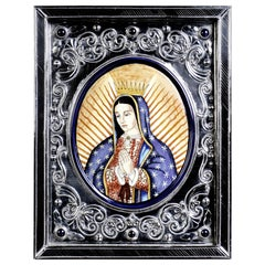 Nuestra Señora De Guadalupe Ceramic and Alpaca