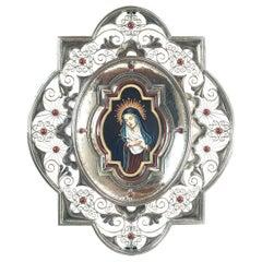 Nuestra Señora De los Dolores Ceramic and Alpaca
