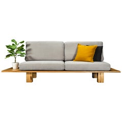Nullarbor Sofa, Handcrafted in Tasmanian Messmate Hardwood