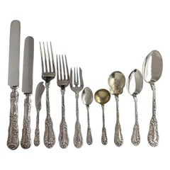 Number 10 Ten by Dominick & Haff Sterling Silver Flatware Set 126 Pieces