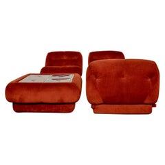 Nuovolone, Modular Sofa & Small Table by Rino Maturi for Mimo Leone & L, 1970s