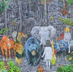 Indonesian Contemporary Art by Nur Nurhidayat - Fausse Note