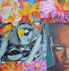 Indonesian Contemporary Art by Nur Nurhidayat - Série Images Dévorant
