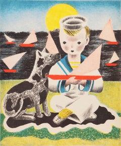 'Edward', Woman Artist, PAFA, Art Students League, Smithsonian, Art Deco Figural