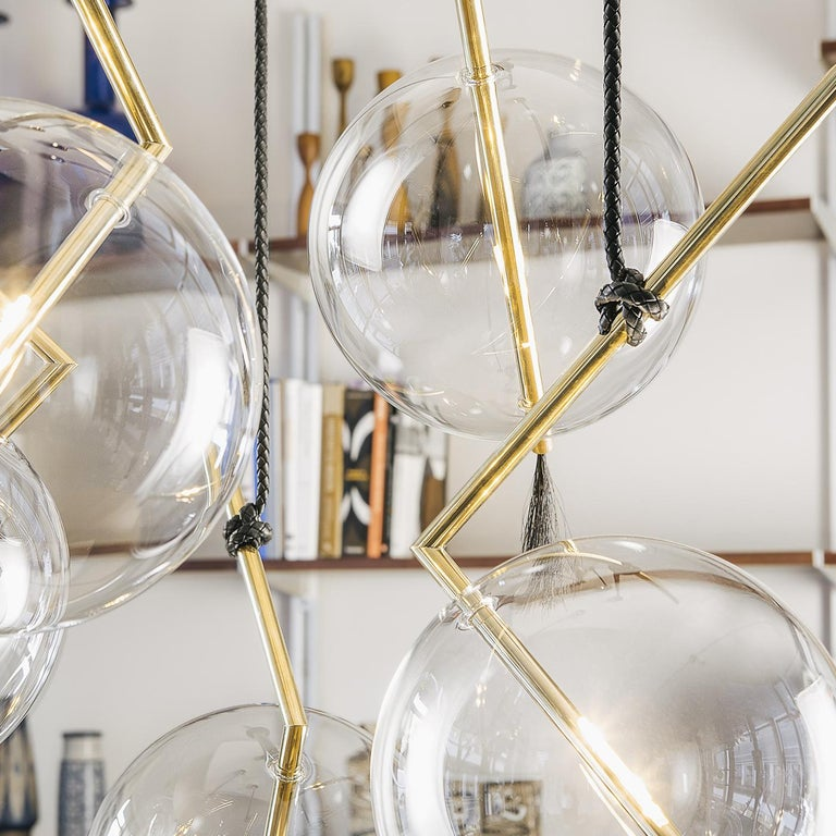 Italian Nuvola Five-Light For Sale