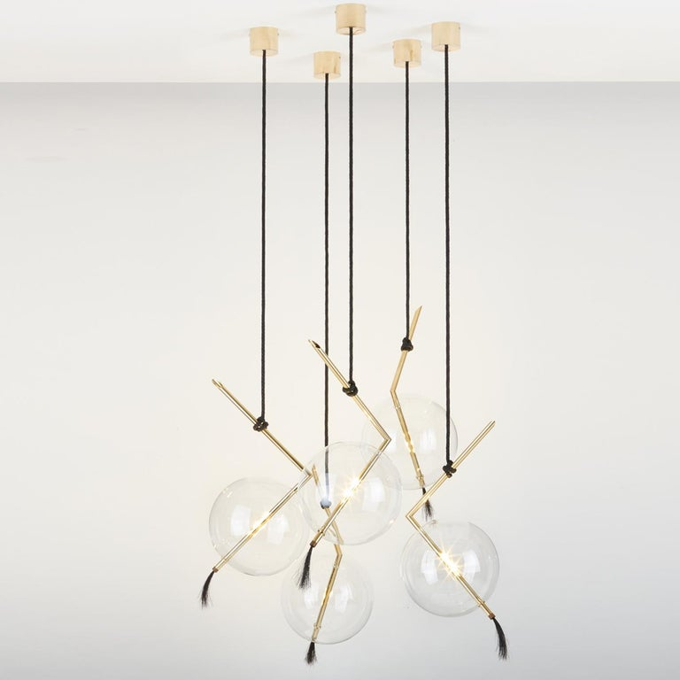 Contemporary Nuvola Five-Light For Sale
