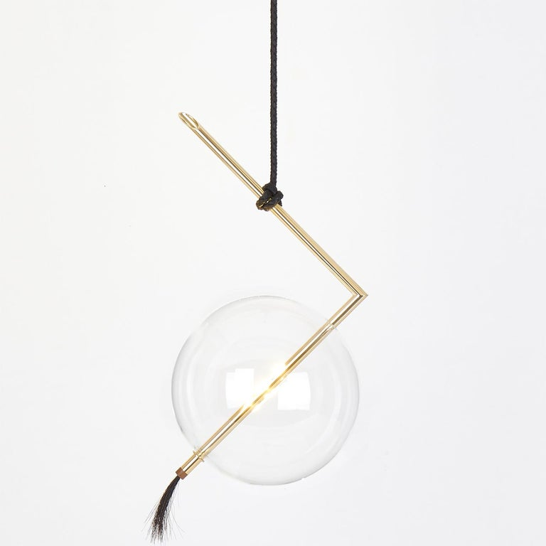 Italian Nuvola Single Light Pendant For Sale