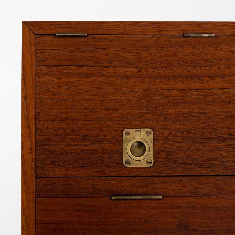 Danish NV 40 Writing Desk in Teak by Finn Juhl For Sale