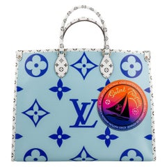 Nw in Box Louis Vuitton Limited Edition On The Go St. Tropez Bag