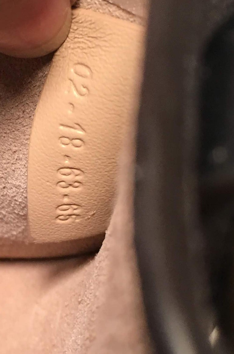 NWOT Chloe Nile Small Black Leather Bracelet Bag For Sale 8