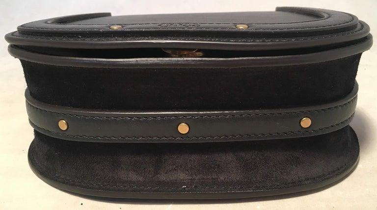 NWOT Chloe Nile Small Black Leather Bracelet Bag For Sale 2
