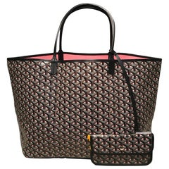 NWOT Limited Edition Goyard Claire Voie Rose Pink Special Color St Louis GM Tote