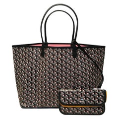NWOT Limited Edition Goyard Claire Voie Rose Pink Special Color St Louis PM Tote