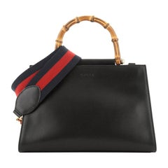 Nymphaea Top Handle Bag Leather Small