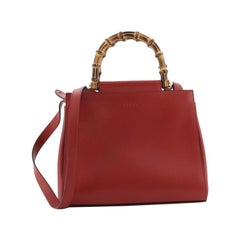 Nymphaea Tote Leather Small