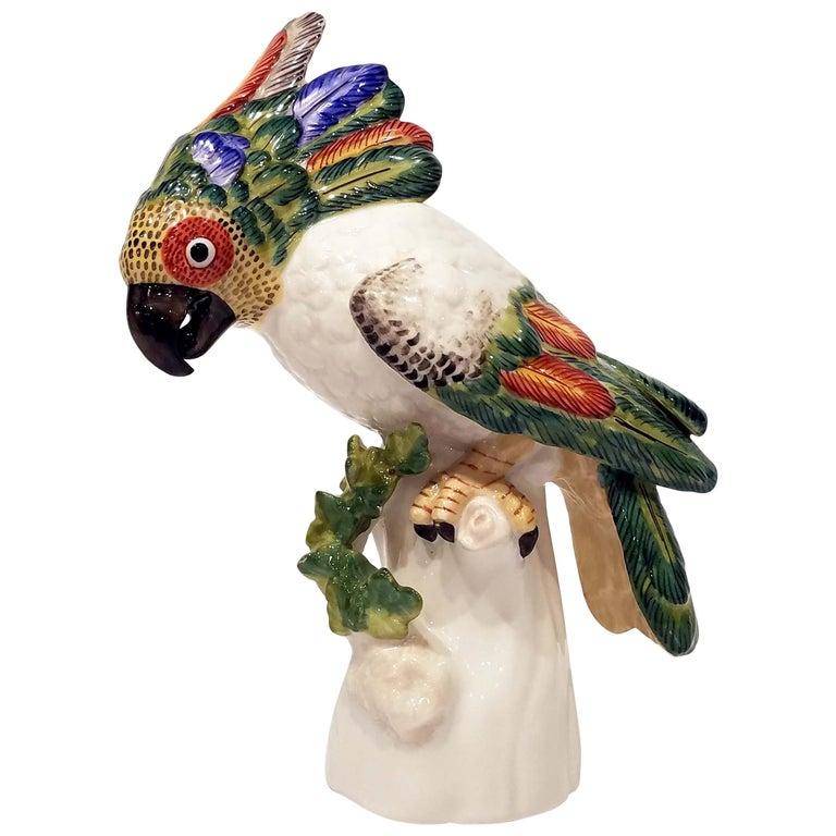 Nymphenburg Porcelain Cockatoo For Sale