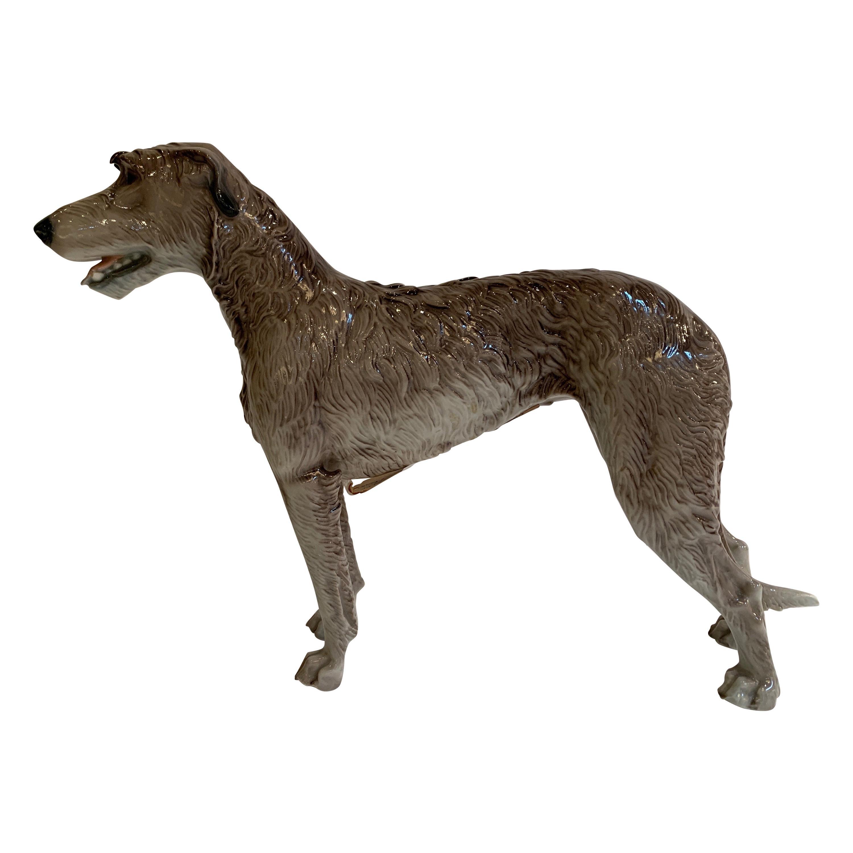 Nymphenburg Porcelain Irish Wolfhound