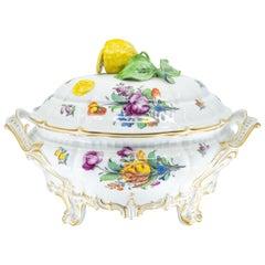 Nymphenburg Porcelain Tureen with Lemon