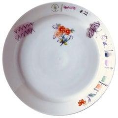 Nymphenburg Sketches Flower #22 Plate