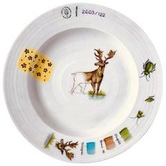 Nymphenburg Sketches Wildlife Deer Plate