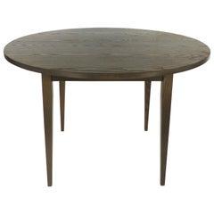 O & G Studio Warren, Rhode Island Cerused Oak Table in the Shaker Style