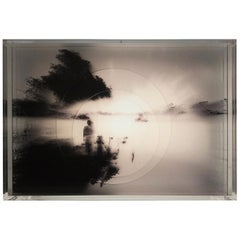 O Rio 'The River', Electrical Lightbox Made of Multiple Exposure Photograph