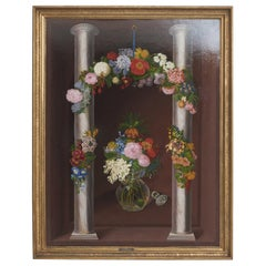 O.A. Hermansen, Large Flower Painting
