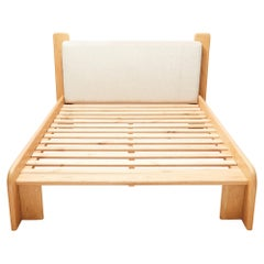 Oak and Linen Ojai Bed by Lawson-Fenning for Parachute Home