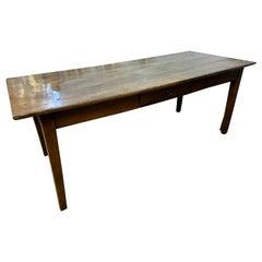 Oak Antique French Farmhouse Table