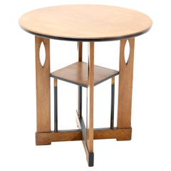 Oak Art Deco Coffee Table, 1930s